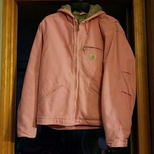Breast Cancer Carhartt Jacket with hood